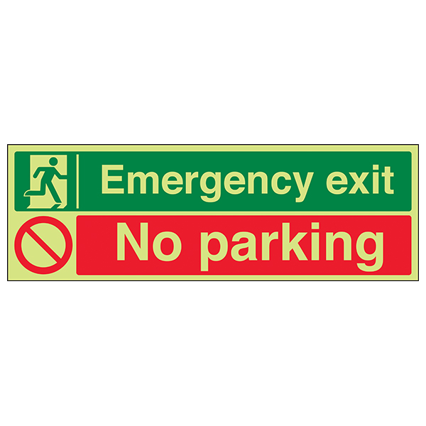 GITD Emergency Exit / No Parking