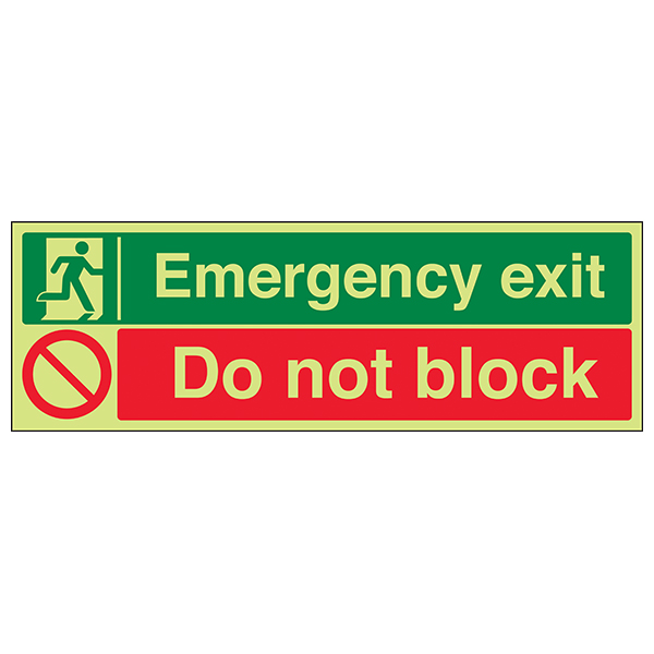 GITD Emergency Exit / Do Not Block