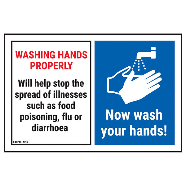 Washing Hands Properly Will Help...Now Wash Your Hands!