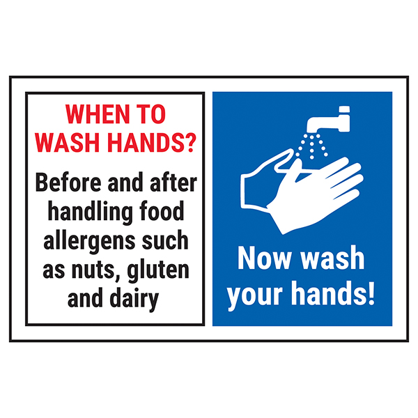 When To Wash Hands? Before......Now Wash Your Hands!
