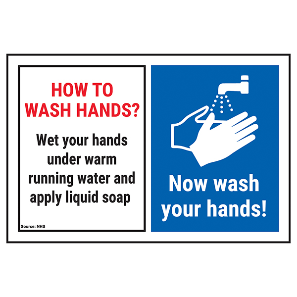 How To Wash Hands? Wet Your...Now Wash Your Hands!