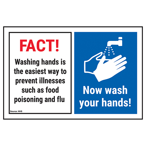 FACT! Washing Hands Is The...Now Wash Your Hands!