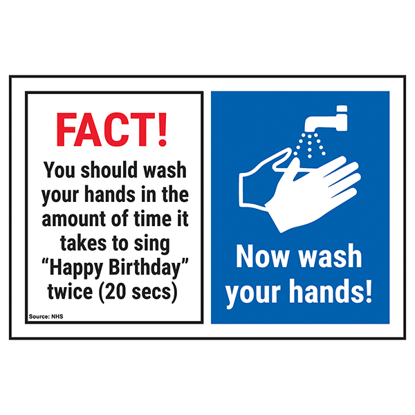 FACT! You Should Wash Your...Now Wash Your Hands!