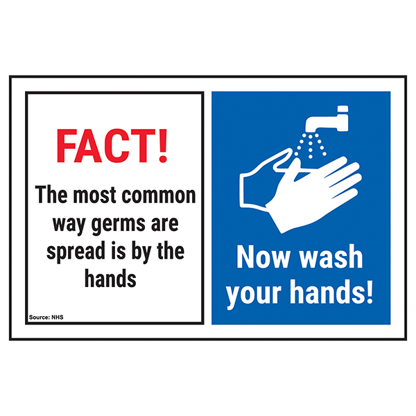 FACT! The Most Common...Now Wash Your Hands!