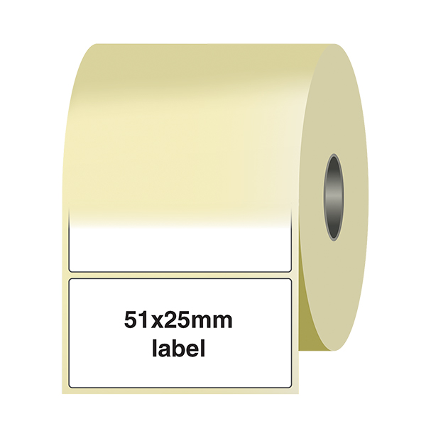 1/2 Price - Was / Now Labels On A Roll