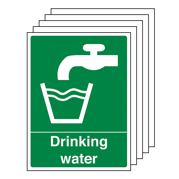 5-Pack Drinking Water