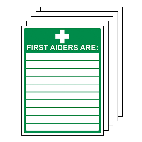 5-Pack First Aiders