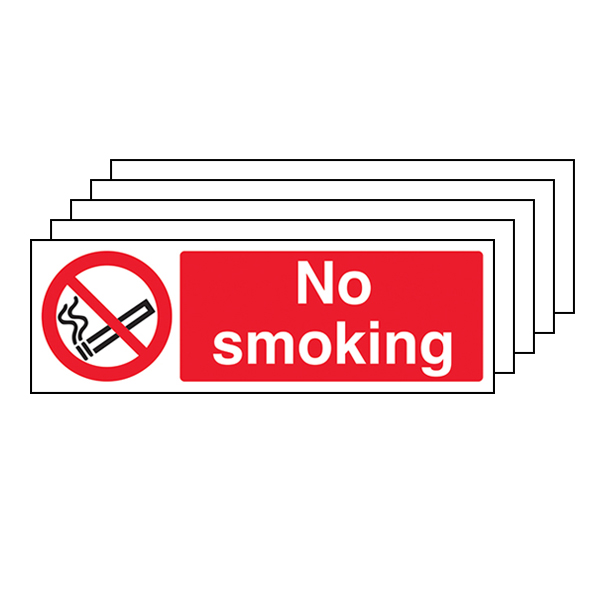 5-Pack No Smoking - Landscape