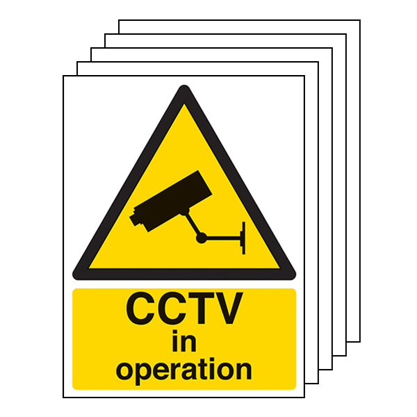 5-Pack CCTV In Operation - Portrait