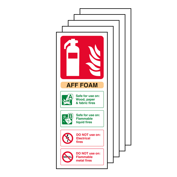 5PK - AFF Foam Fire Extinguisher