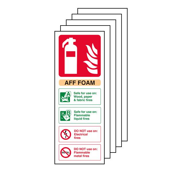 5PK - AFF Foam Fire Extinguisher