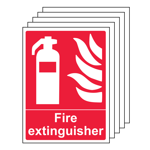 5PK - Fire Extinguisher - Portrait