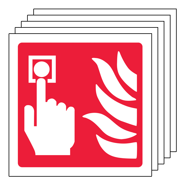 5PK - Fire Alarm Symbol