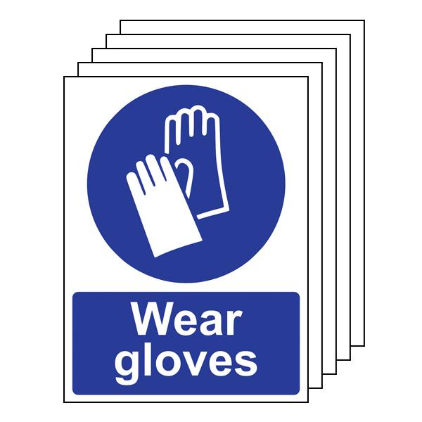 5PK - Wear Gloves - Portrait