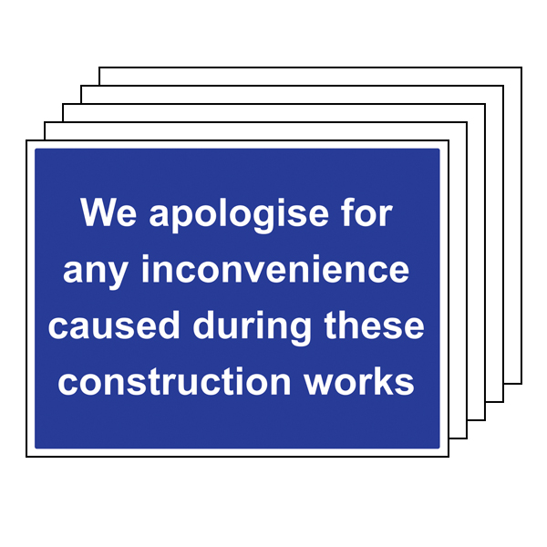 5PK - We Apologise For Any Inconvenience