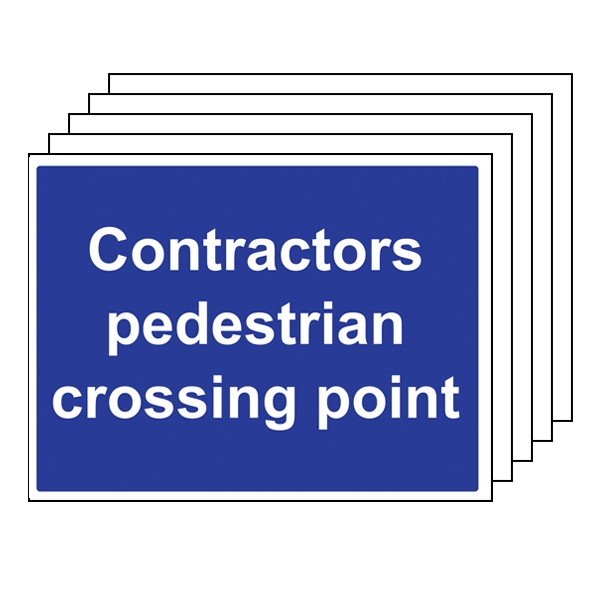 5PK - Contractors Pedestrian Crossing Point
