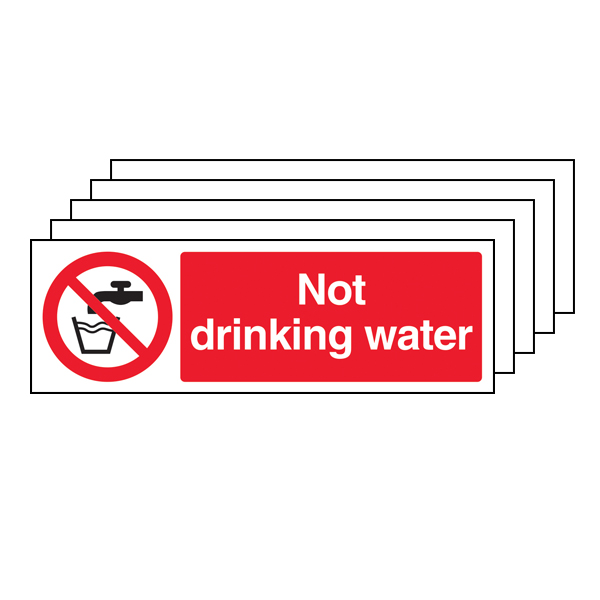 5PK - Not Drinking Water - Landscape