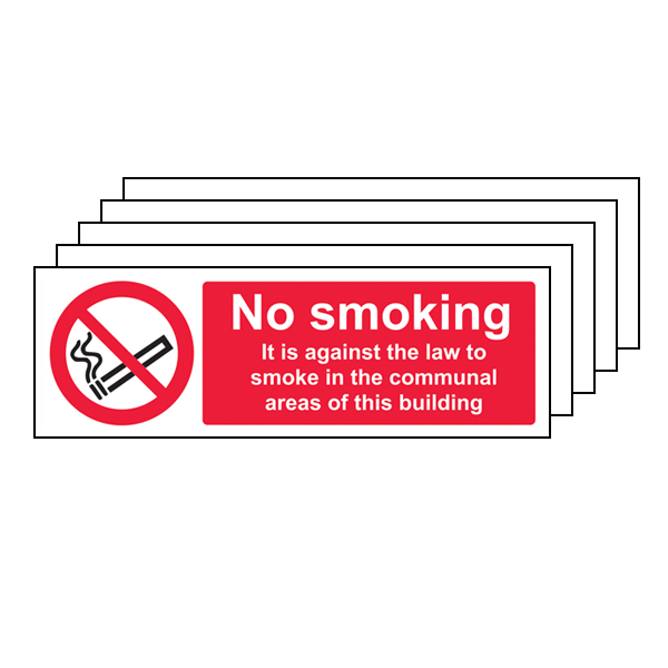 5PK - No Smoking In Communal Area - Landscape