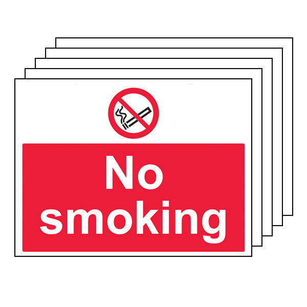 5PK - No Smoking - Large Landscape