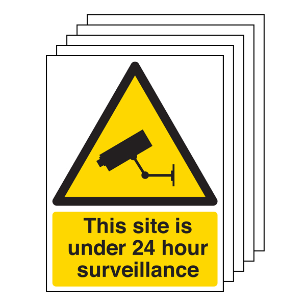 5PK - Under 24 Hour Surveillance - Portrait