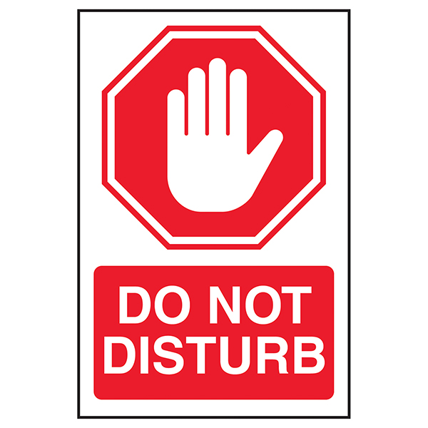 Stop / Do Not Disturb