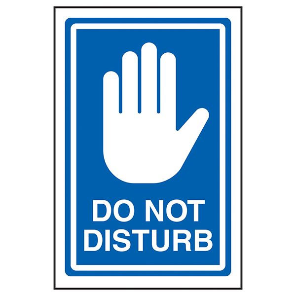 Do Not Disturb - Blue