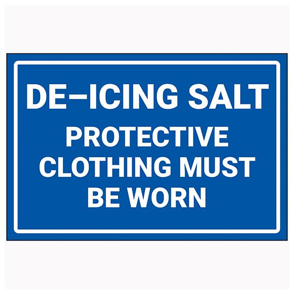 De-Icing Salt / Wear Protective Clothing