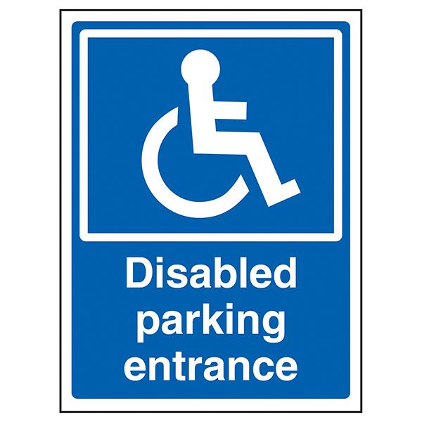 Disabled Parking Entrance