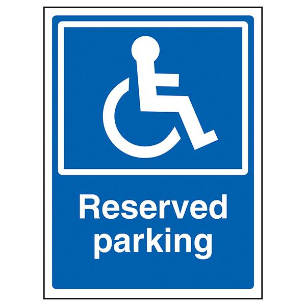 Disabled Reserved Parking