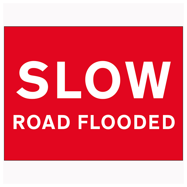 Slow Road Flooded