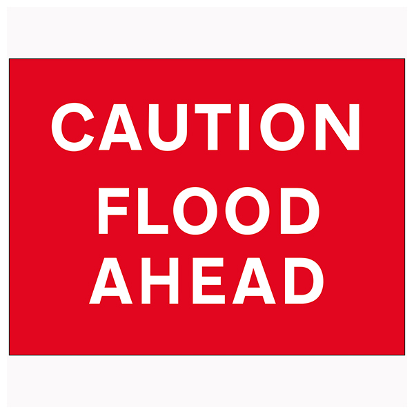 Caution Flood Ahead