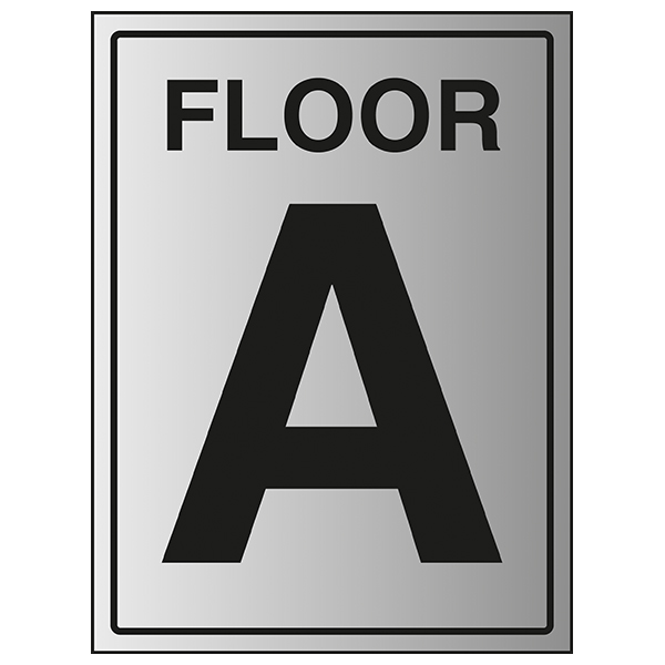 Floor A - Aluminium Effect