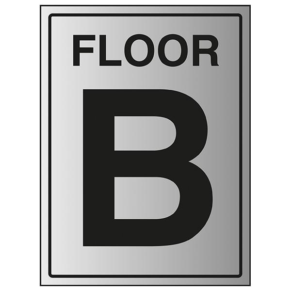 Floor B - Aluminium Effect