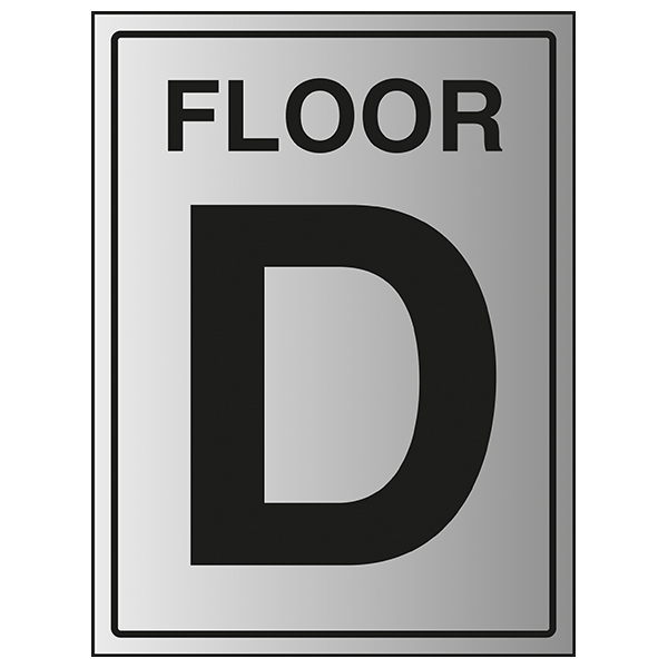 Floor D - Aluminium Effect