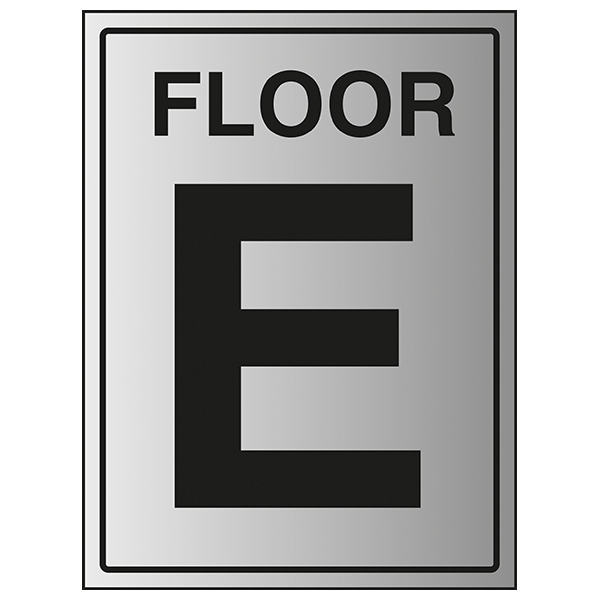 Floor E - Aluminium Effect