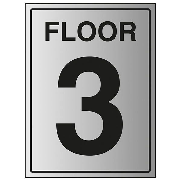Floor 3 - Aluminium Effect
