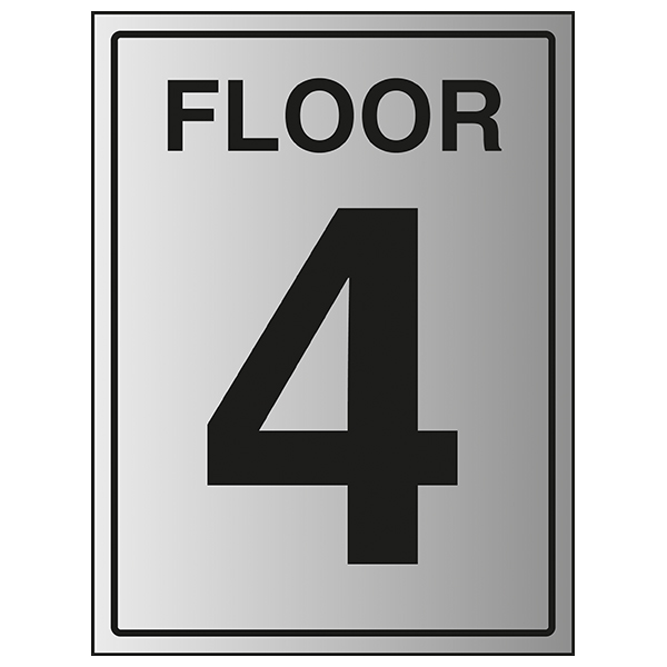 Floor 4 - Aluminium Effect