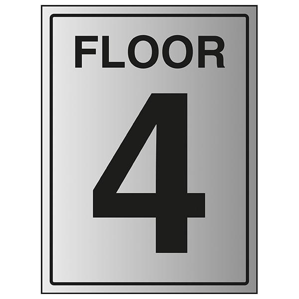 Floor 4 - Aluminium Effect