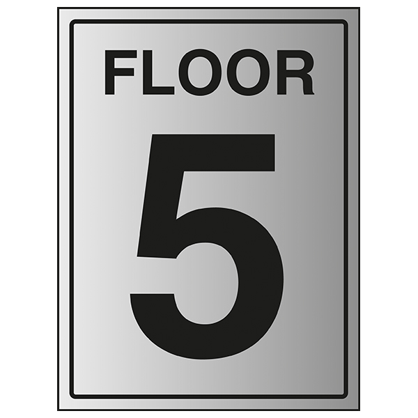 Floor 5 - Aluminium Effect