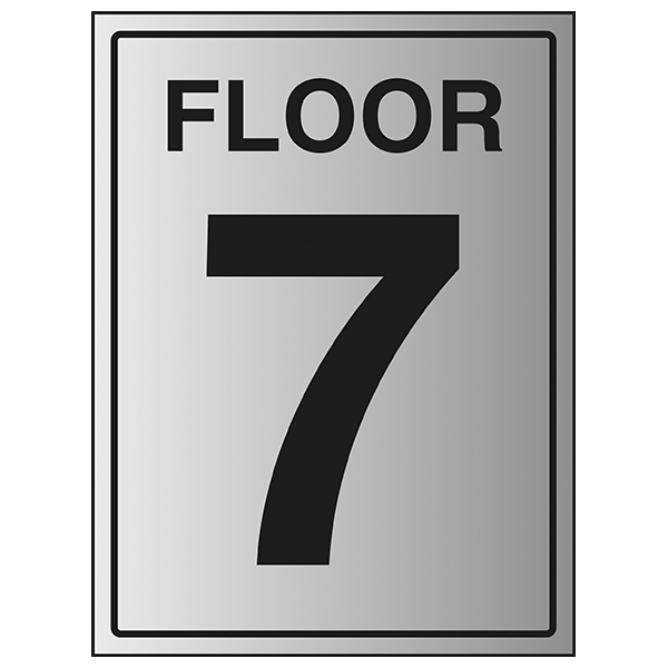 Floor 7 - Aluminium Effect