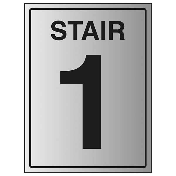Stair 1 - Aluminium Effect