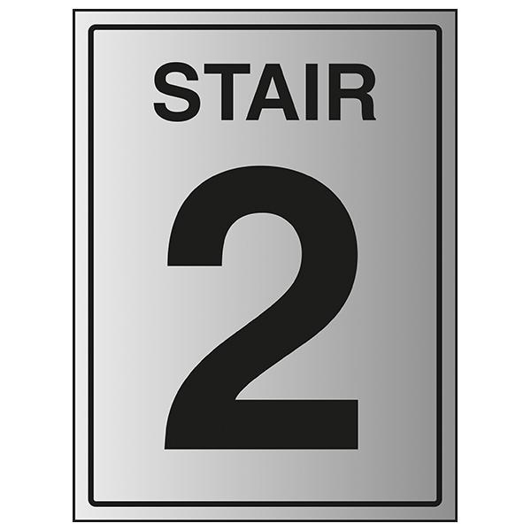 Stair 2 - Aluminium Effect