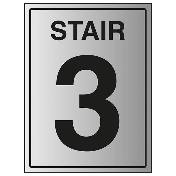 Stair 3 - Aluminium Effect