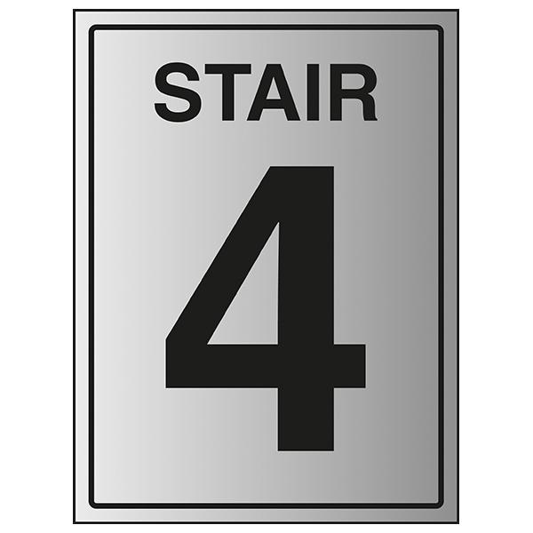 Stair 4 - Aluminium Effect