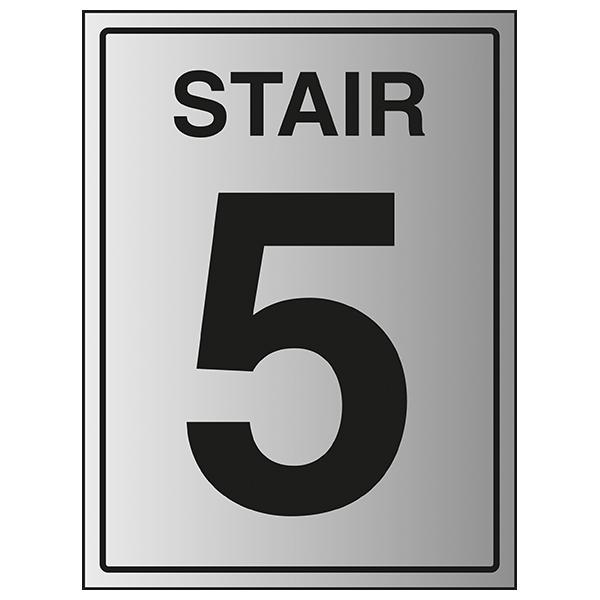Stair 5 - Aluminium Effect