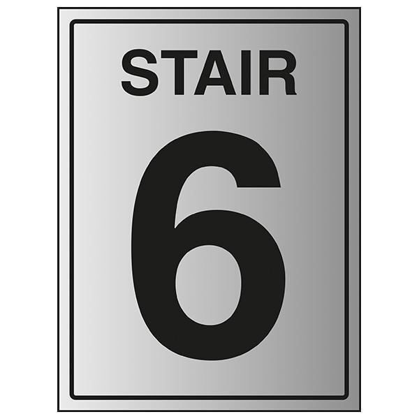 Stair 6 - Aluminium Effect
