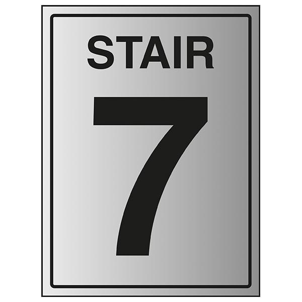 Stair 7 - Aluminium Effect