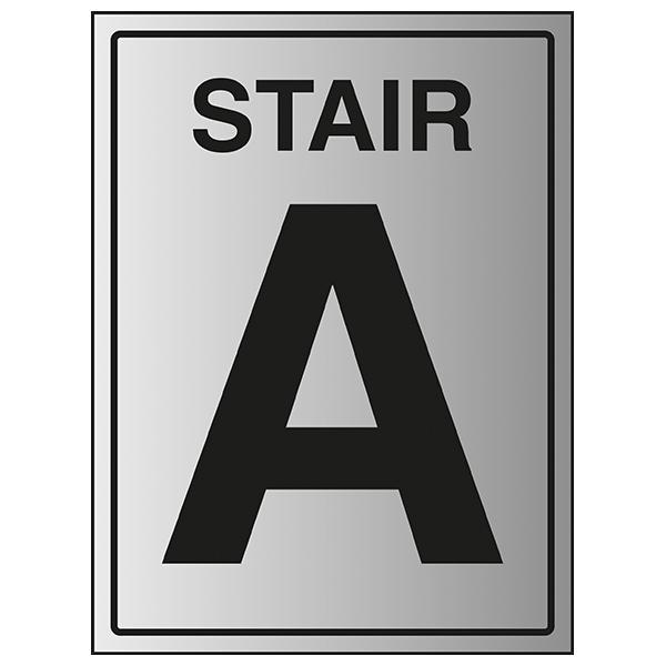 Stair A - Aluminium Effect