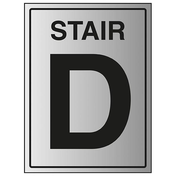 Stair D - Aluminium Effect