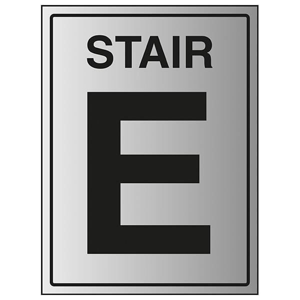 Stair E - Aluminium Effect